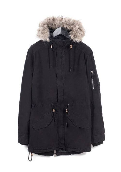 Cotton Padded Hooded Long Jacket 172.EM12.47
