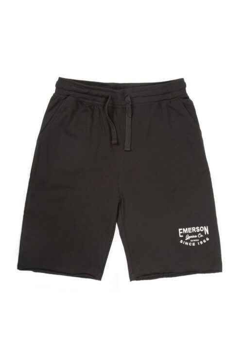 EMERSON GENIUS CO SWEAT SHORTS 191.EM26.84 BLACK