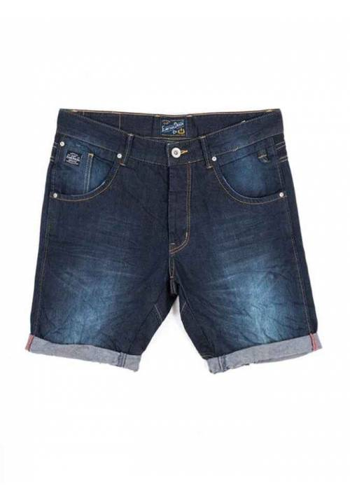 STRETCHED DENIM SHORT PANTS 191.EM45.97