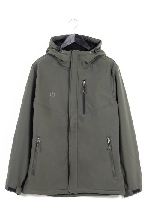 Long Hooded Bonded Jacket 172.EM11.18