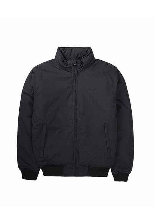 ROLL-IN HOOD BOMBER JACKET 192.EM10.08 BLACK