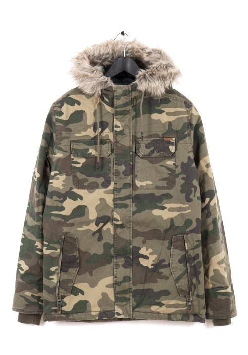 ARMY STYLE COTTON JACKET MR1669C CAMOUFLAGE