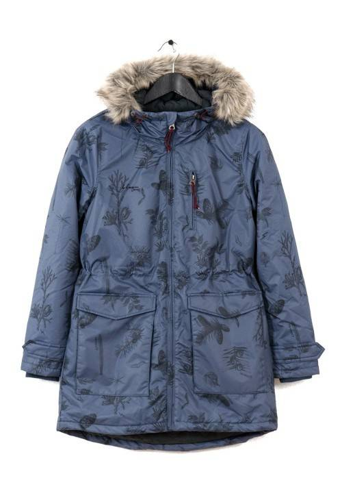 NYLON ATHLETIC PARKA WR1651N BLUE