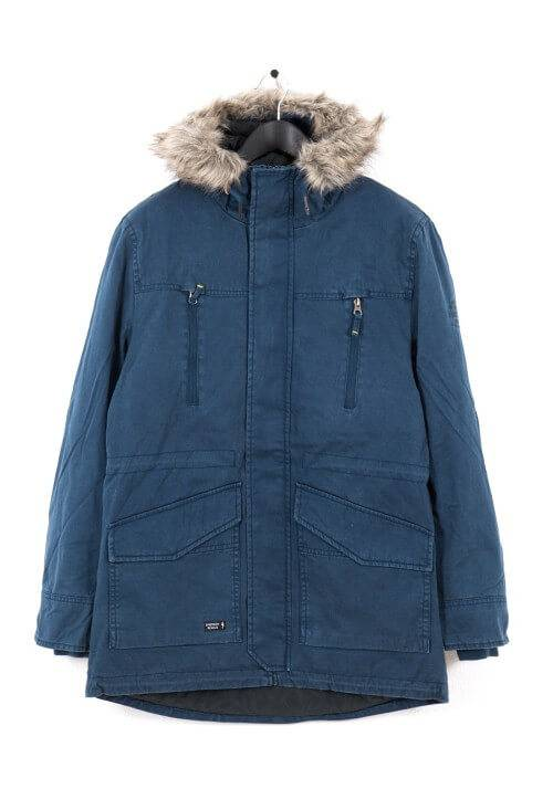 PADDED COTTON PARKA MR1653C NAVY
