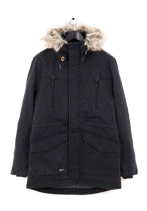 PADDED COTTON PARKA MR1653C BLACK