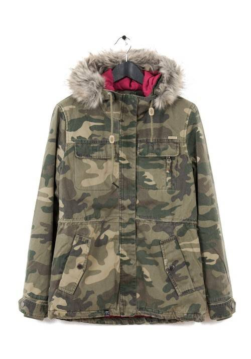 ARMY COTTON JACKET WR1655C CAMOUFLAGE