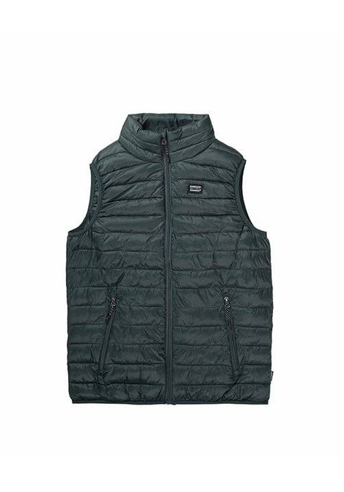 FAKE DOWN QUILTED VEST JACKET 192.EM10.140 GREEN
