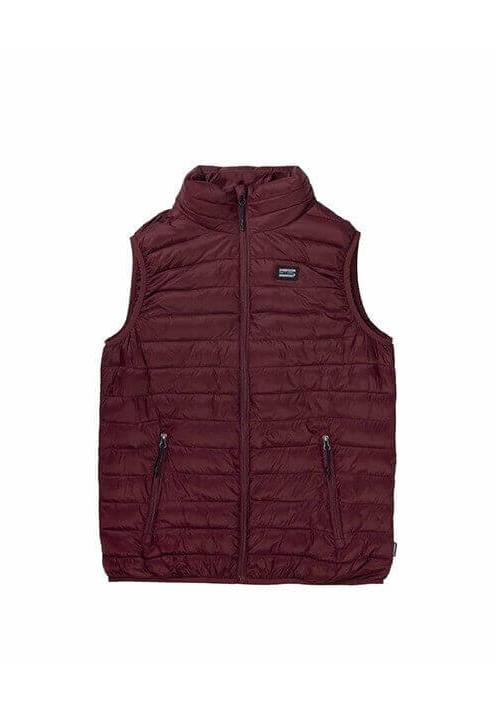 FAKE DOWN QUILTED VEST JACKET 192.EM10.140 WINE