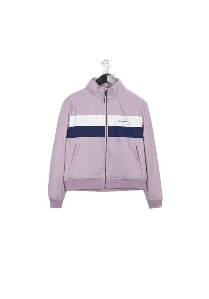 ROLL-IN HOODED BOMBER JACKET 182.EW.10.108 PINK