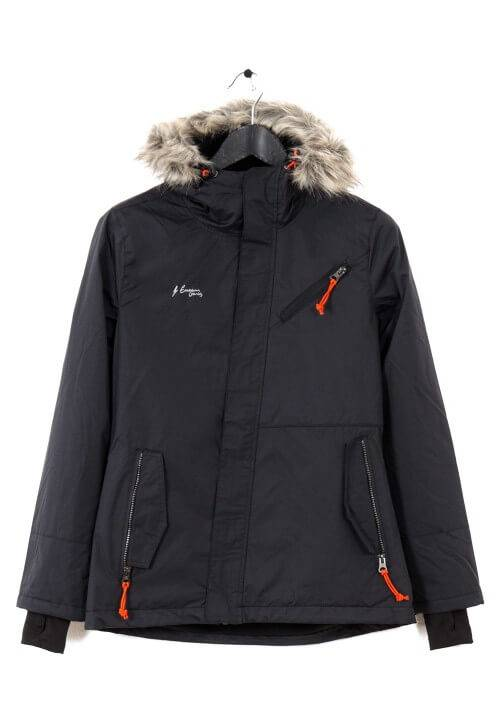 LONG ATHLETIC JACKET WR1643N BLACK