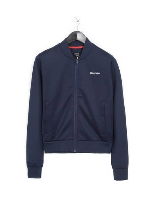 ZIP-UP TRACK JACKET 182.EW23.67 NAVY