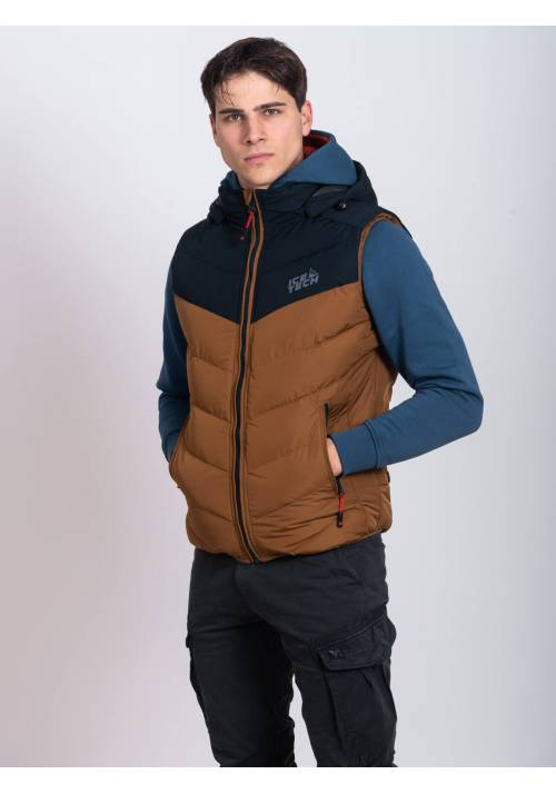 ICE TECH VEST G825 MUSTARD/NAVY