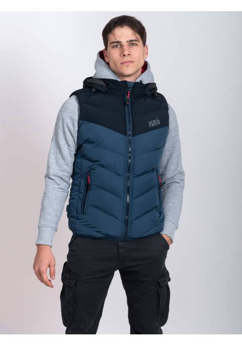 ICE TECH VEST G825 PETROL/NAVY