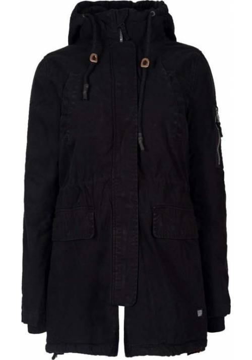 COTTON JACKET 182BW12.22 BLACK