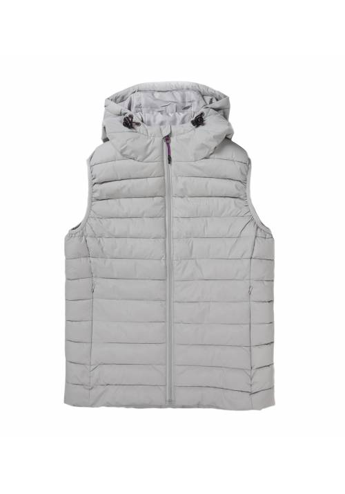 Vest Jacket with Hood 192.EW10.114 ICE