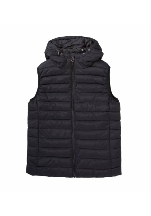 Vest Jacket with Hood 192.EW10.114 BLACK
