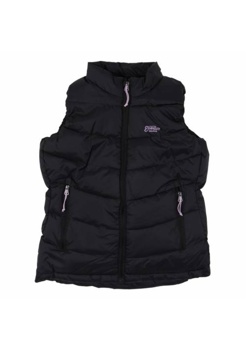 Vest Jacket with Hood 182.EW10.122 BLACK