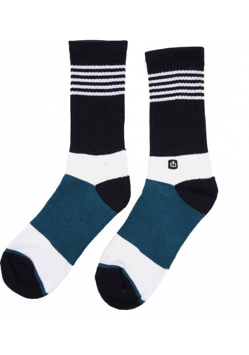 Emerson Socks 202.EU08.03 WHITE/PETROL/BLACK