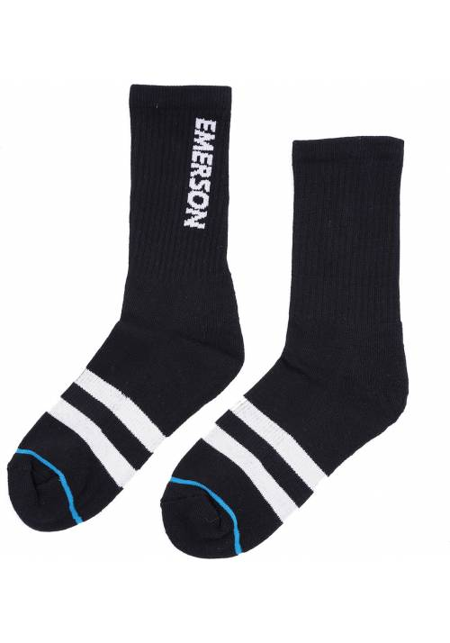 Emerson Socks 202.EU08.11 BLACK/WHITE