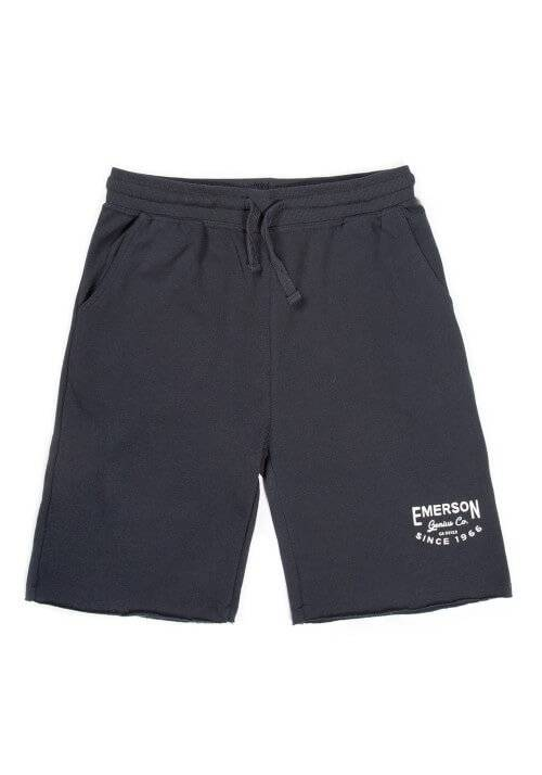 EMERSON GENIUS CO SWEAT SHORTS 191.EM26.84 NAVY