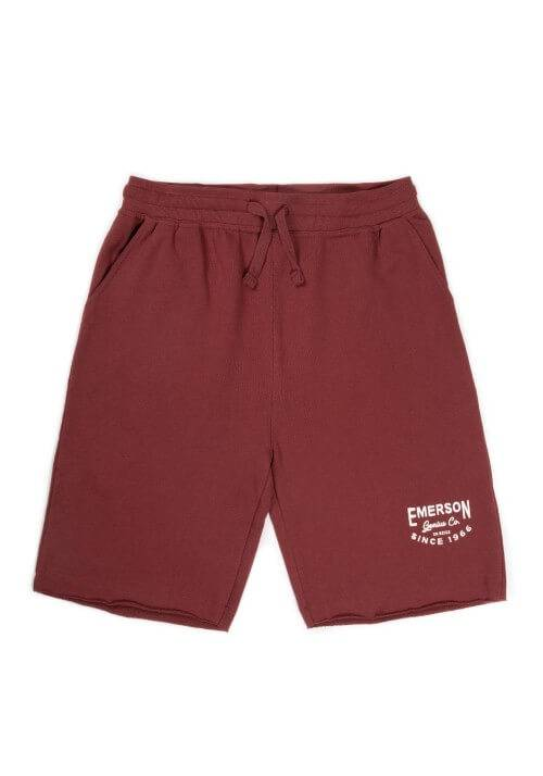 EMERSON GENIUS CO SWEAT SHORTS 191.EM26.84 RASBERRY