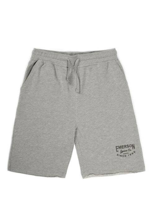 EMERSON GENIUS CO SWEAT SHORTS 191.EM26.84 GREY MELANGE