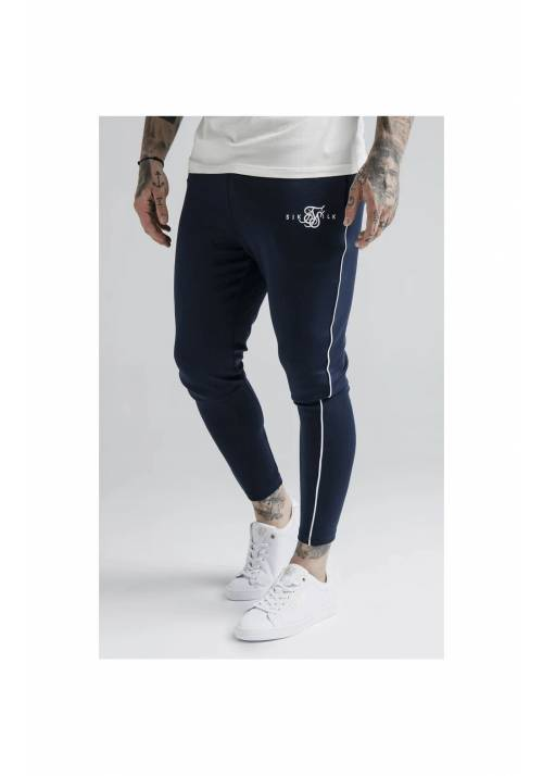 SikSilk Agility Deluxe Track Pants SS-17921 NAVY