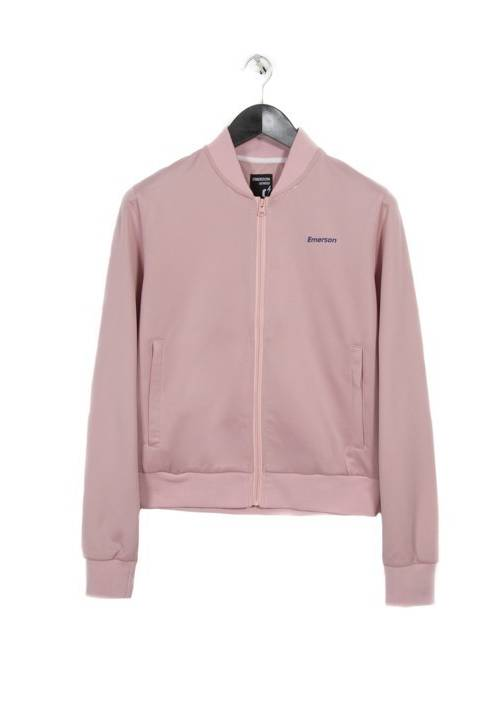 ZIP-UP TRACK JACKET 182.EW23.67 PINK